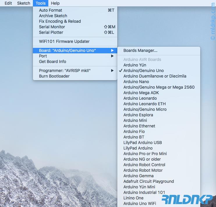 ESP8266 ondersteuning in Arduino IDE